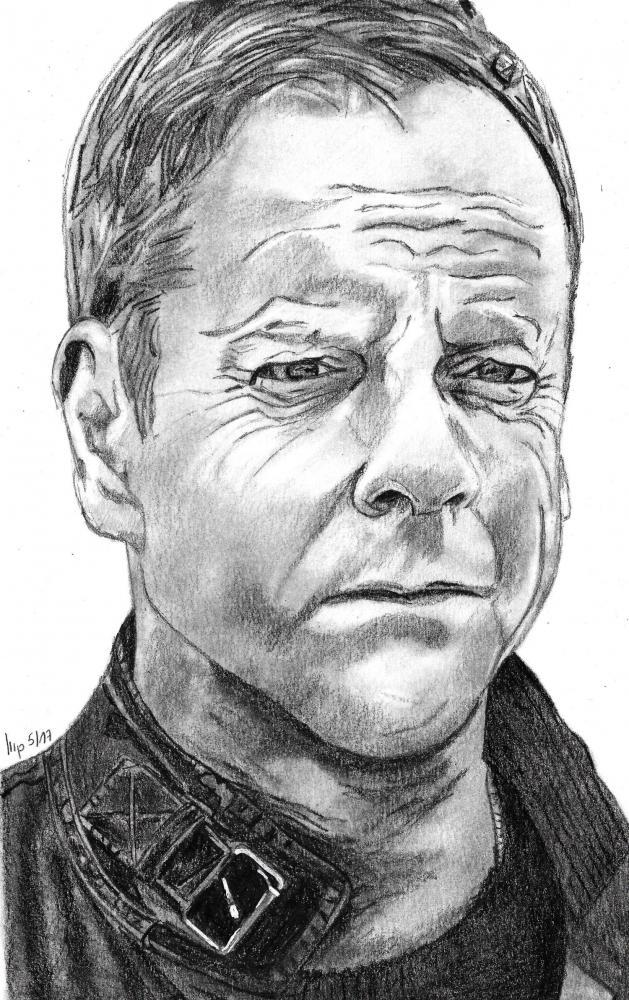 Kiefer Sutherland par patrick